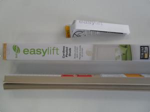 Жалюзи плиссе EasyLift - легкий светофильтр беж(LightFilteringPleated)